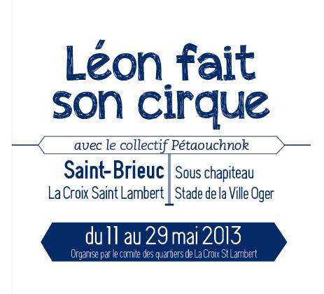 Léon fait son cirque