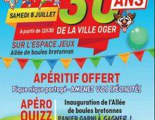 Les 30 ans de la «Ville Oger»