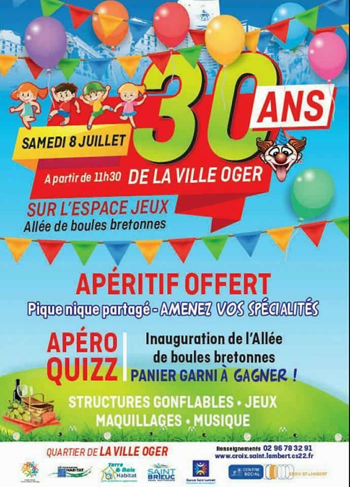 """Les 30 ans de la """"Ville Oger"""""""