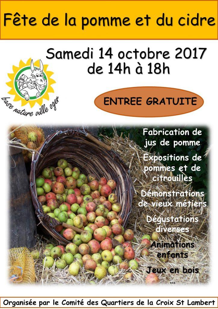 La fête de la pomme c'est ce samedi 14 octobre !