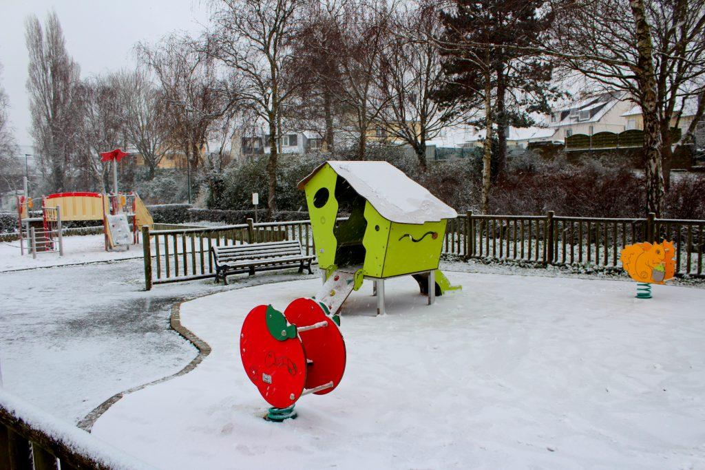 Beauvallon sous la neige