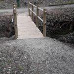 Le petit pont de bois qui ne tenait plus guère………